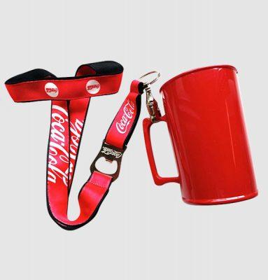 Caneca em Acrílico Coca Cola