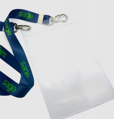 Bolsa Para Credencial PVC