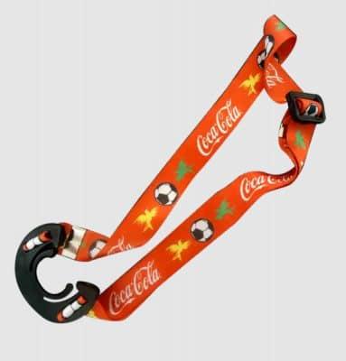 Cordão Para Garrafa Coca-Cola