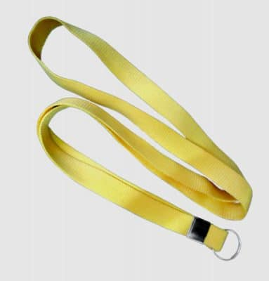 Cordão Liso Amarelo