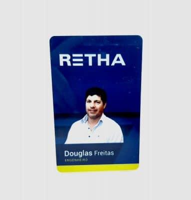 Crachá Retha Personalizado
