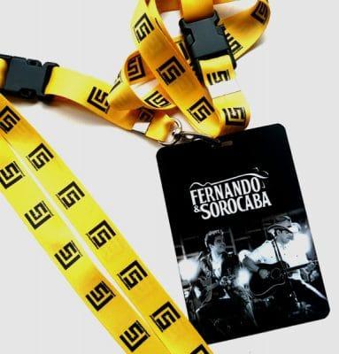 Credencial Semi Sintética Fernando e Sorocaba