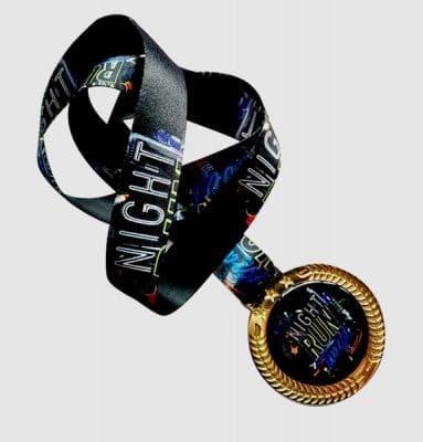 Medalha Personalizada Night Run