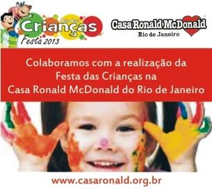 Selo Apoiadores da Festa Dia das Crianças