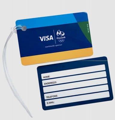 Tag De Identificação Visa